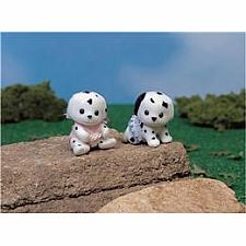 Calico Critters Dalmation Dog Twins