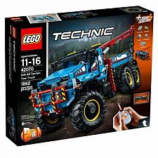 6 x 6 All Terrain Tow Truck42070 Technic LEGO