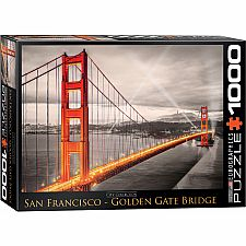 Golden Gate Bridge 1000 Puzzle