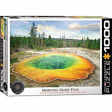 Morning Glory Pool 1000 Puzzle