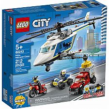 Police Helicopter Chase 60243
