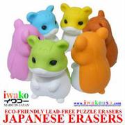 Iwako Erasers